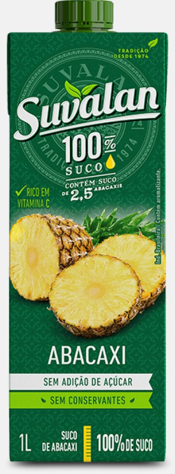 100% Suco-Abacaxi